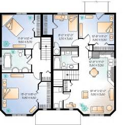 house plans with in apartment plan w21428dr three unit apartment house plan e architectural design