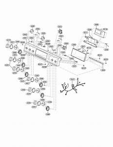 Controller Parts Diagram  U0026 Parts List For Model Lse3092st