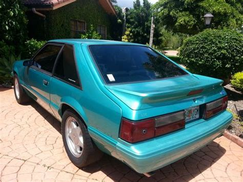 Find Used 1993 Ford Mustang Lx Hatchback 2-door 5.0l In