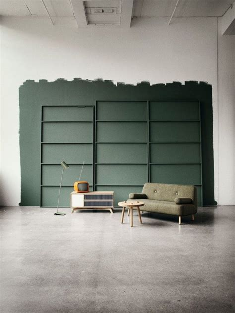 color coded dark green moody hues  malaysia furniture