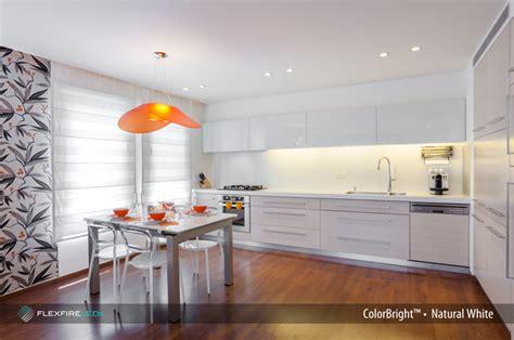 Under Kitchen Cabinet Lighting Ideas - under cabinet lighting with led strip lights flexfire leds blog
