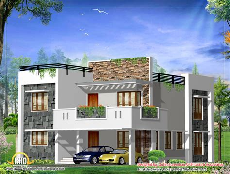 modern square home design 2541 sq ft home appliance