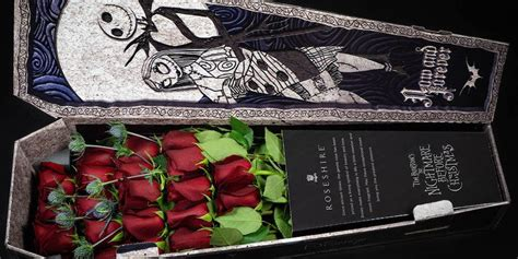 nightmare  christmas roses    coffin