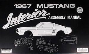 1967 Repair Shop Manual Original Mustang Fairlane Ranchero