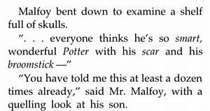 love harry pott... Drarry Book Quotes