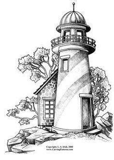 lighthouse clipart traceable lighthouse traceable