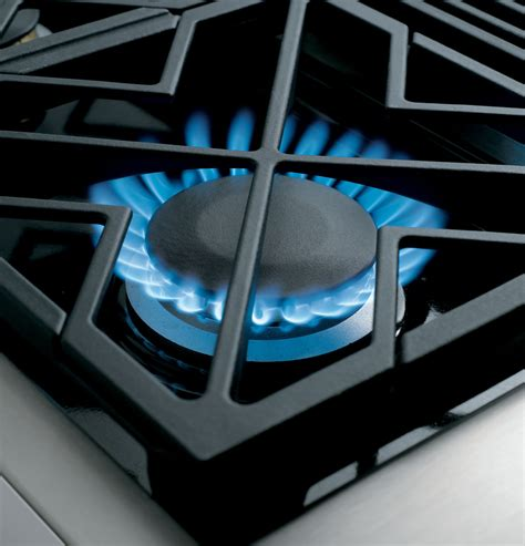 zgunpss monogram  professional gas rangetop   burners natural gas  monogram