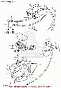 Suzuki Gs650g 1981-1982  Usa  Electrical