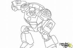 How To Draw Chase From Transformers Rescue Bots