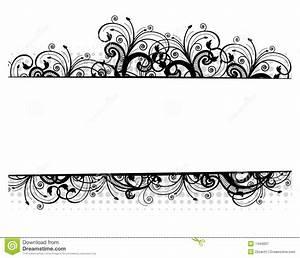 16 Vector Flower Black Border Images - Free Vector Borders ...