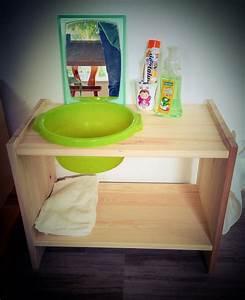 Parc Bébé Ikea : diy lavabo b b montessori ikea hack babysioux cr ation pinterest recherche montessori et ~ Teatrodelosmanantiales.com Idées de Décoration