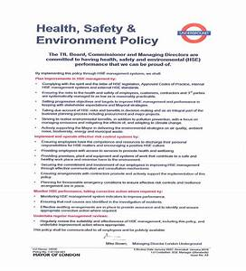 Hse Health And Safety Policy Template Construction Phase Plan R1 2
