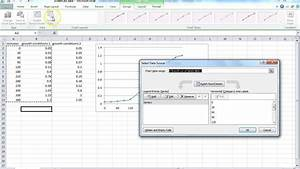 How To Make A Scatter Plot In Excel How To Do A Scatter Plot Growth Curve In Excel Youtube