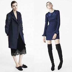 Look Femme Ronde 2017 : nouvelle collection sandro automne hiver 2016 2017 bleu jean fashion 2017 sandro et ~ Mglfilm.com Idées de Décoration