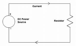 Ohm39s law for simple electrical circuits by ron kurtus for Simple dc circuit