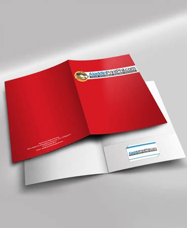 folder design  printing aladdinprintphil