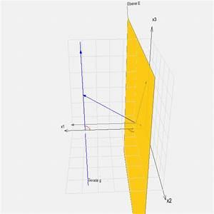 Geradengleichung Berechnen : lagebeziehungen zwischen ebenen und geraden beispiel zur berechnung des abstandes zwischen ~ Themetempest.com Abrechnung