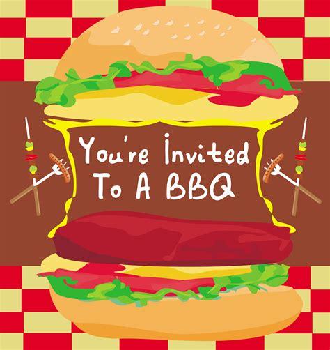 birthday invitation the best bbq invitations barbecue ideas