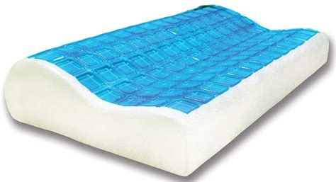 cooling gel pillow memory foam cooling pillow pillow click