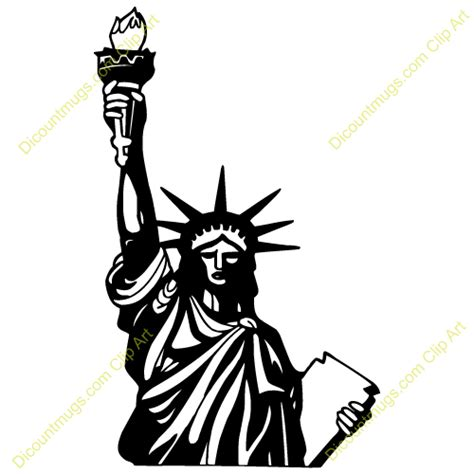 Statue Of Liberty Clipart Statue Of Liberty Silhouette Clipart Clipart Suggest