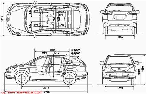 2017 Lexus Rx 350 Interior Dimensions