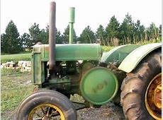 John Deere D 1937 Model Starting and Running and Driving