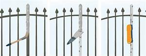 peindre un portail en fer forge portail cloture With peindre une grille en fer
