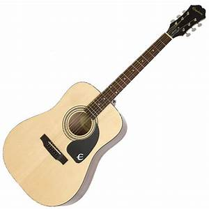 DISC Epiphone DR-90T Steel String Acoustic Guitar Player ...