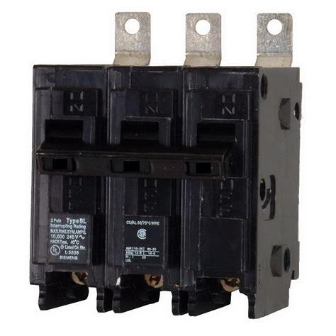 siemens b370 molded circuit breaker 70 240 volt