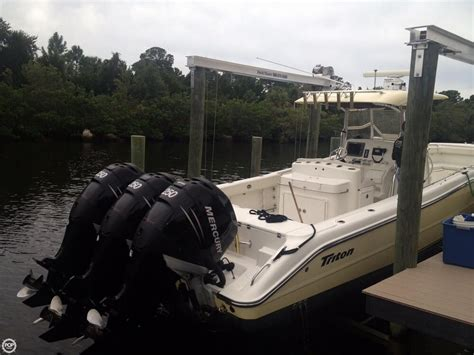 Triton Offshore Boats by 2006 Triton 351 Offshore Fishing Boat Detail Classifieds