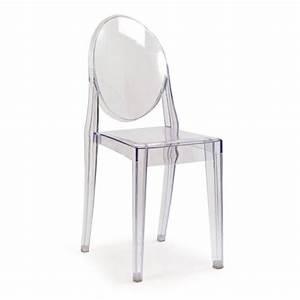 But Chaise Transparente : chaise ghost transparente achat vente chaise violet ~ Teatrodelosmanantiales.com Idées de Décoration