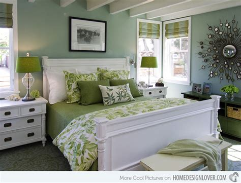 Bedrooms Of Lime Green Accents-decoration For House