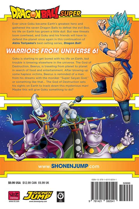 dragon ball super manga volume