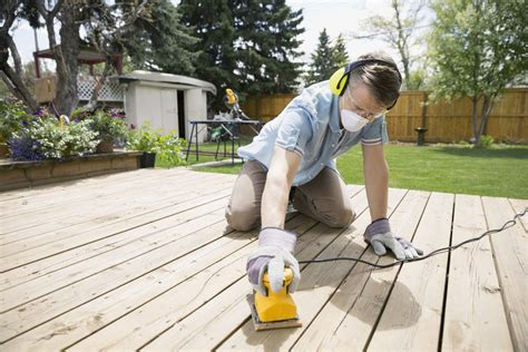 sanding a deck how to properly sand a wood deck with a deck sander