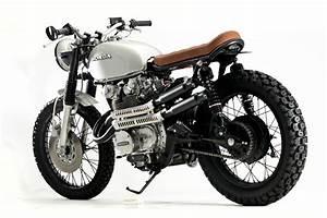 Honda CB450 Scrambler by Steel Bent Customs – BikeBound