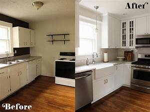 Kitchen, Makeovers, On, A, Budget, U2013, Homesfeed