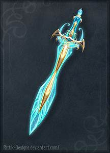 Blessed sword - Auction! by Rittik-Designs weapon ...