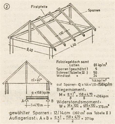dachstuhl statik berechnen dachkonstruktion dc statik