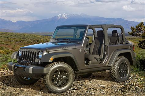 2014 Jeep Wrangler Willys Wheeler Edition Review Auto