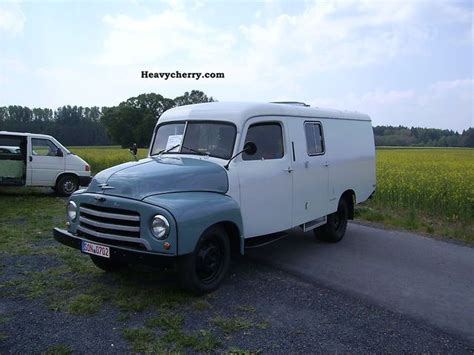 Opel Flash 1960 Box-type Delivery Van Photo And Specs