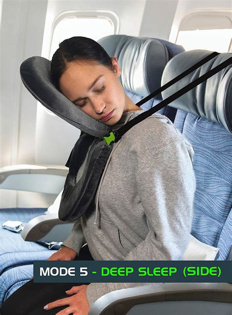 airplane travel pillow with facecradle you can finally sleep on a plane