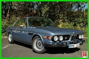 Bmw 3 0cs Coupe 1974 Blue For Sale  4335382 1974 Bmw 3 0