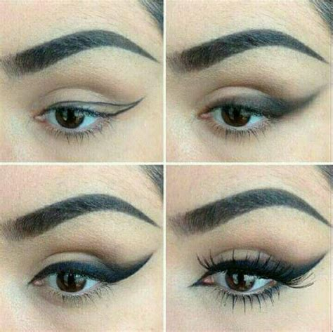 Delineado paso a paso (con imágenes) Maquillaje de ojos