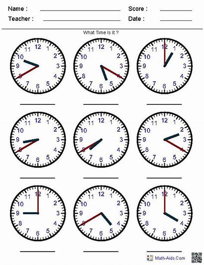 Worksheets Clock 3rd 2nd 4th 1st 5th
