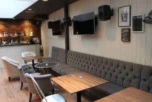 Modern Restaurant Banquettes by Kitchen Dining Banquette Seating From Bistro Into Your