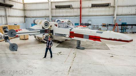 This Incredible Full Scale Lego Xwing Is The Largest