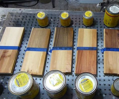 effects   stains  white pine wood
