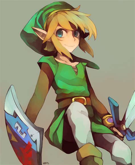 Legend Of Zelda Link By Redricewine On Deviantart