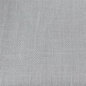 Emma dove grey plain linen mix fabric for Gray curtains texture