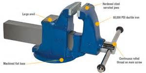 Yost Bench Vise by Yost Heavy Duty Industrial Machinist Bench Vise